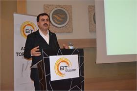 KTO Başkanı Selçuk Öztürk, BTvizyon Konya etkinliğinde yer aldı