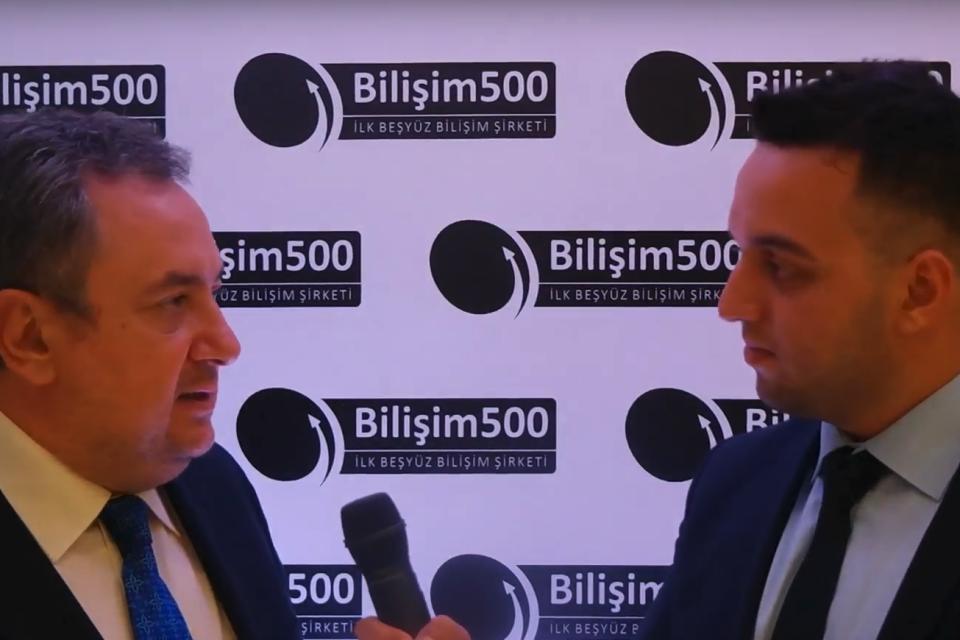 Murat Göçe ile Bilişim 500 hakkında konuştuk (Video)