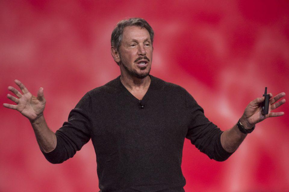 Oracle Larry Allison