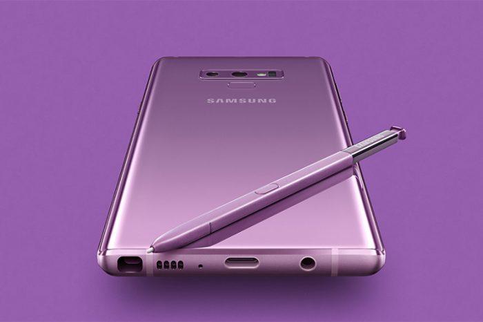 Samsung Galaxy Note 9 lansmanı gerçekleşti
