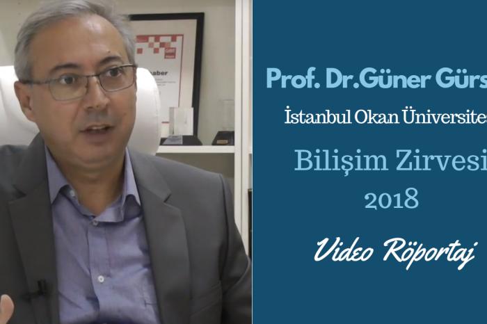 Okan Üniversitesi Rektör Yardımcısı Prof. Dr. Güner Gürsoy, gençleri Bilişim Zirvesi'ne çağırıyor