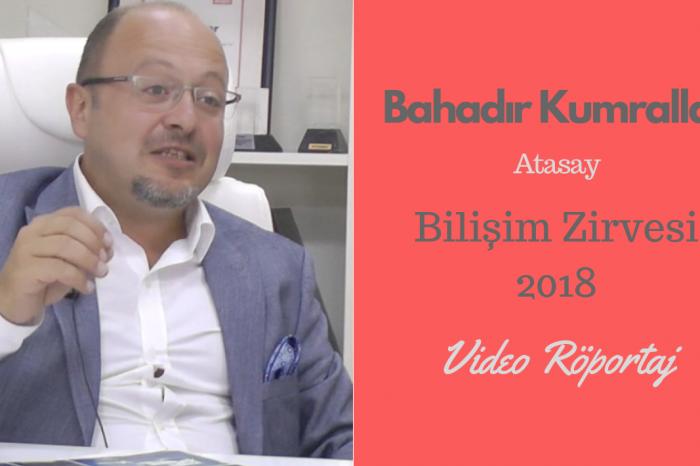 Atasay CIO'su Bahadır Kumrallar, Bilişim Zirvesi 2018'de Perakende 4.0'ı anlatacak