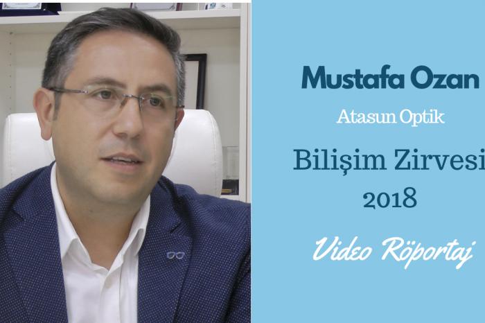 Atasun Bilgi İşlem ve Lojistik Direktörü Ozan, Bilişim Zirvesi hakkındaki görüşlerini belirtti