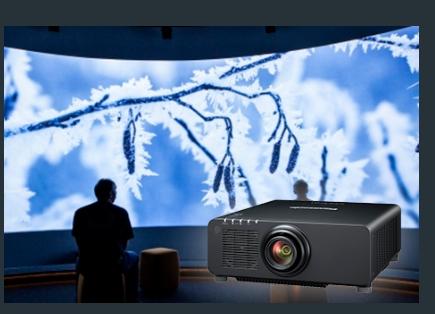 Panasonic yeni projektörünü tanıtıyor