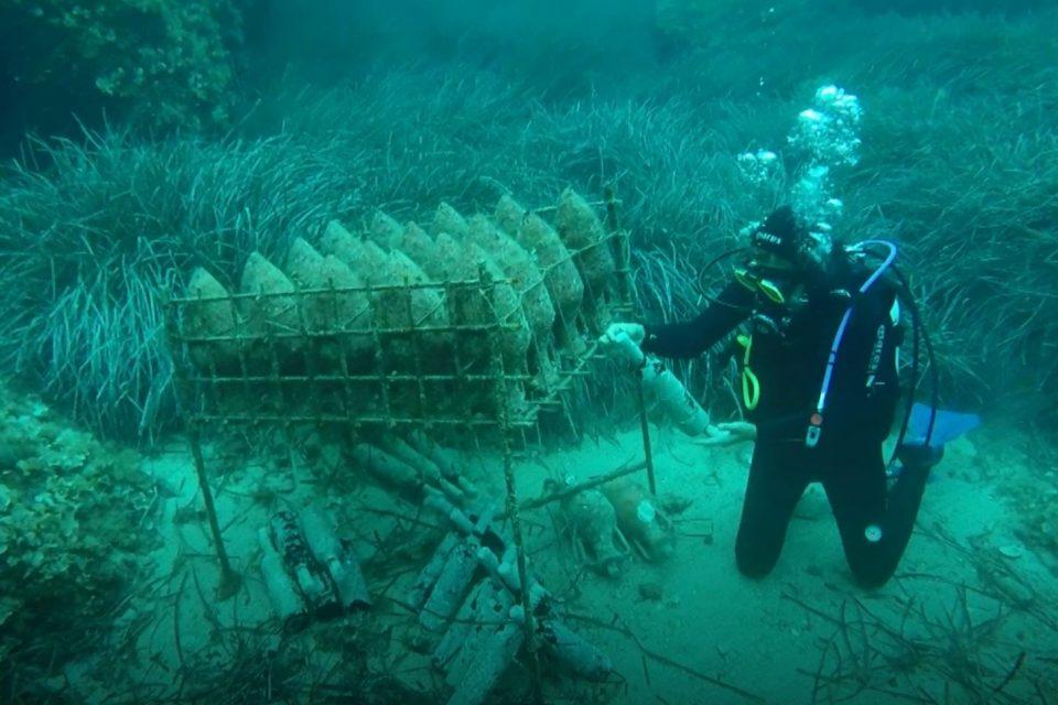 Hırvatistan deniz altı sarabı