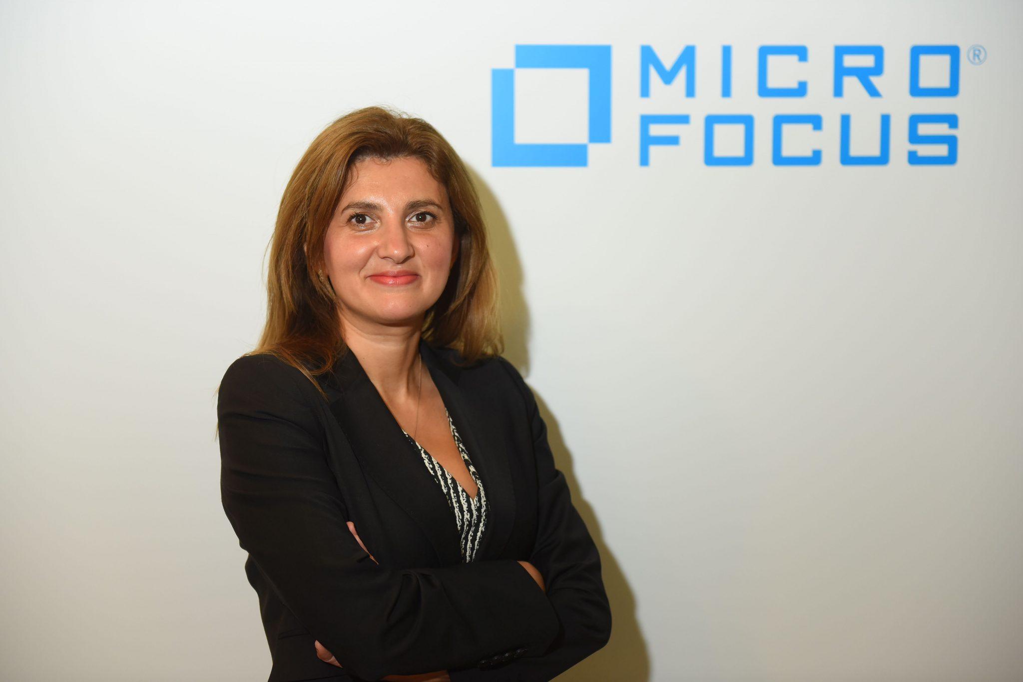 Micro Focus Türkiye ve Yunanistan Genel Müdürü Deniz Kırca