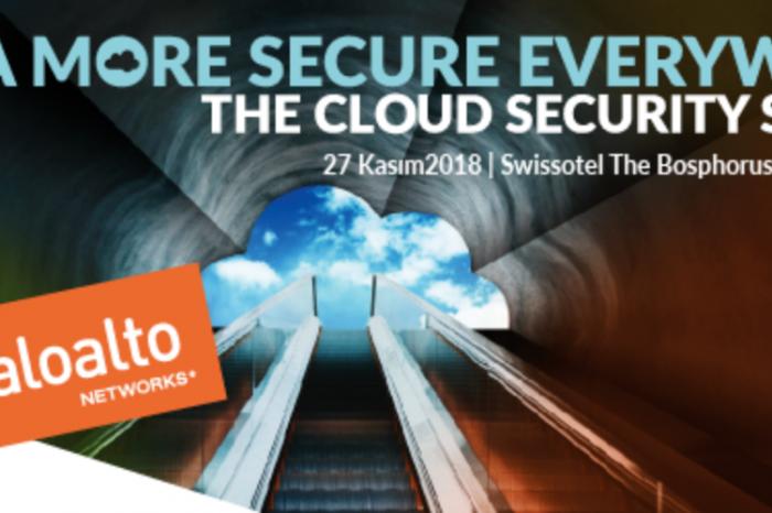 Palo Alto ile 27 Kasım'da ''Bulut Güvenliği'' konuşulacak