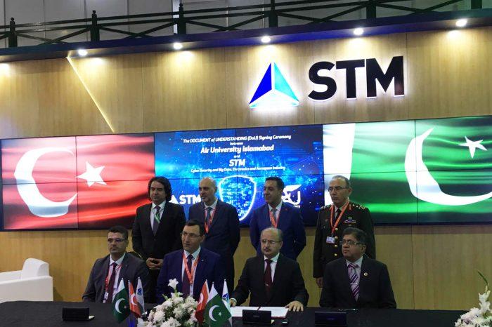 STM Pakistan'da Siber Güvenlik alanında DoU Anlaşmasına imza attı