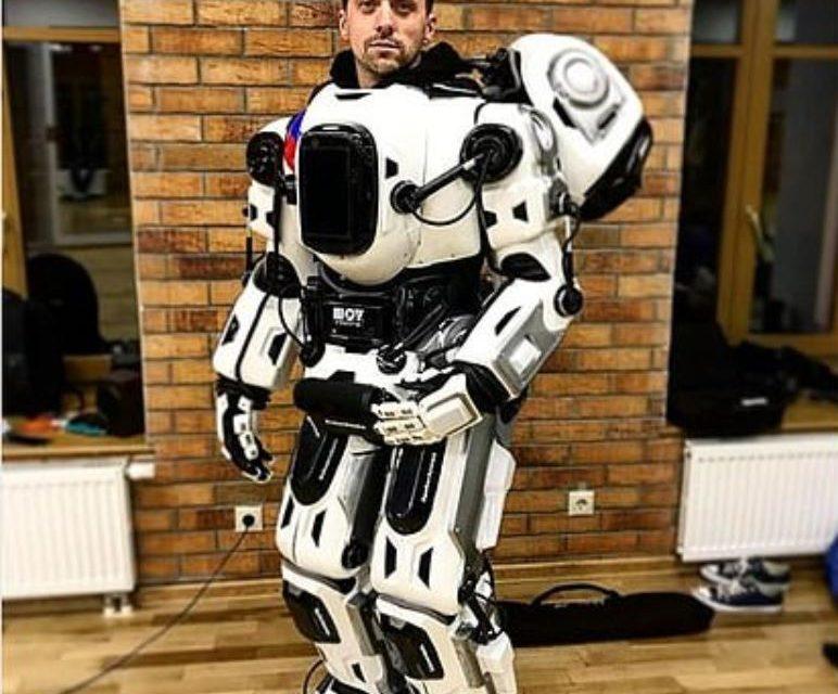 Rus tv robot