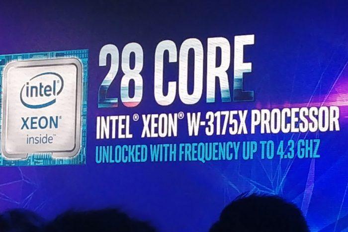 Intel, Xeon W-3175X işlemcilerini satışa çıkardı