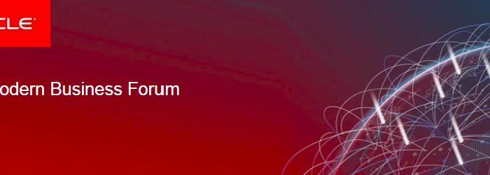 2019'un ilk büyük etkinliğinde bulut iş uygulamaları konuşulacak: Oracle Modern Business Forum
