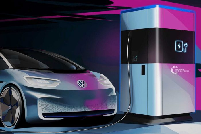 Volkswagen mobil şarj istasyonlarını duyurdu
