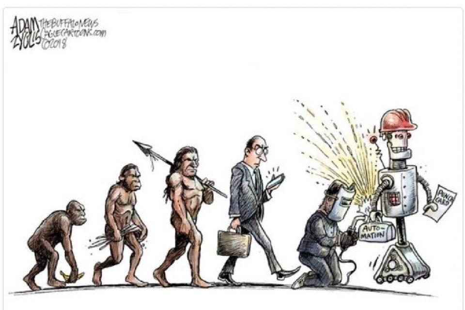 Yapay zeka cartoon
