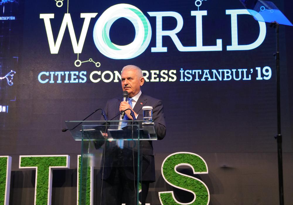 Binali Yıldırım World Cities Congress