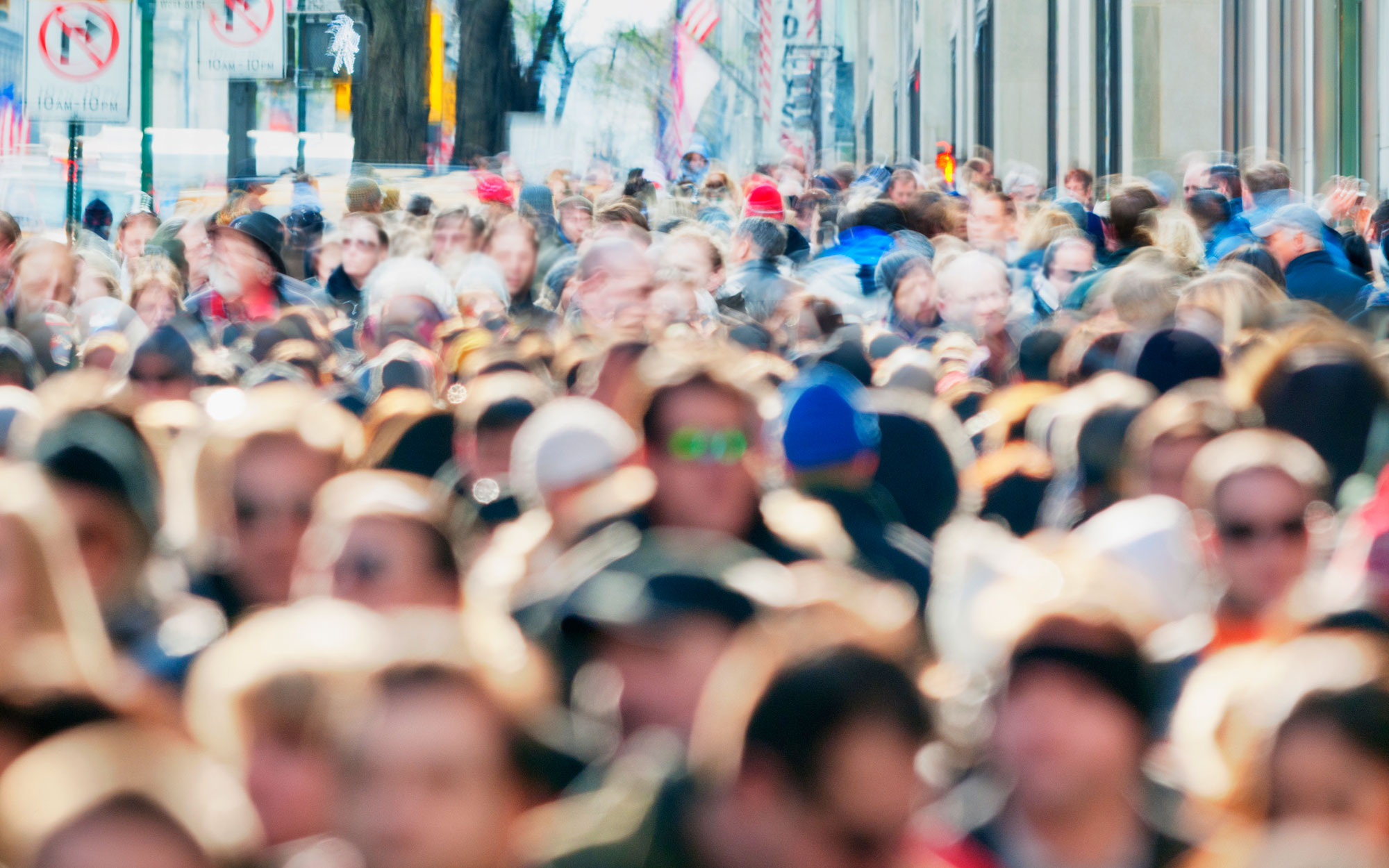 Crowded City