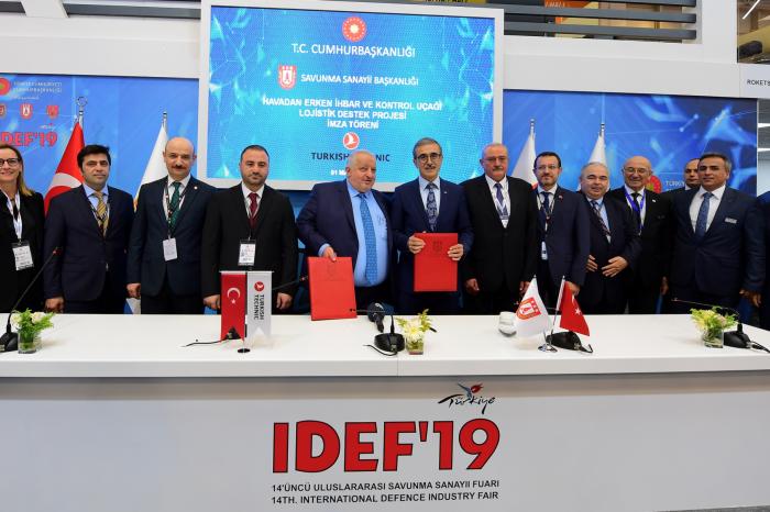 IDEF'te 75 imza töreni gerçekleştirildi