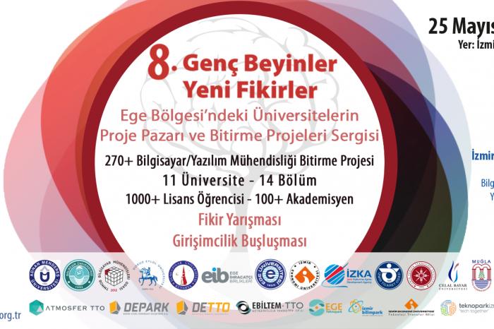 Genç Beyinler Yeni Fikirler, 25 Mayıs'ta İzmir'de