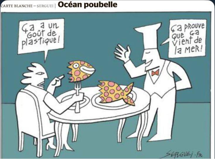 Deniz plastik balık