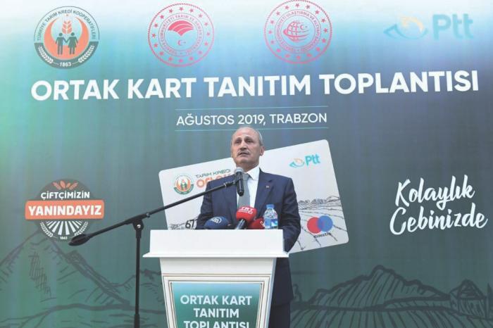 'Tarım Kredi Ortak Kart Projesi' hayata geçiyor