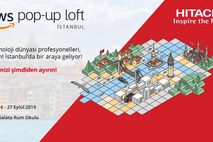 Hitachi Vantara, AWS Pop-Up Loft İstanbul etkinliğinde