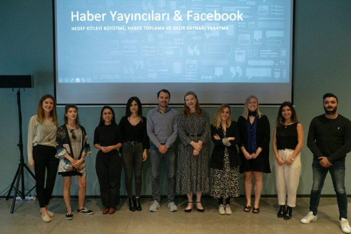 Facebook, gazetecilik eğitim programını Türkiye'de başlattı