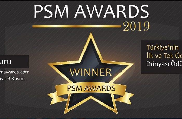 PSM AWARDS başvuruları devam ediyor