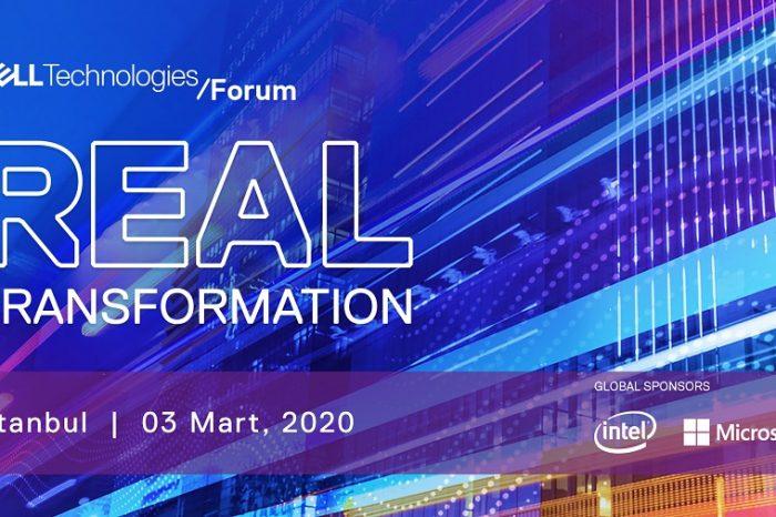 Dell Technologies Forum 2020, 3 Mart'ta İstanbul'da