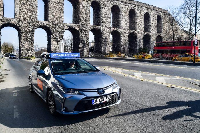 Sürücüsüz Araç İstanbul Trafiğine Çıktı!