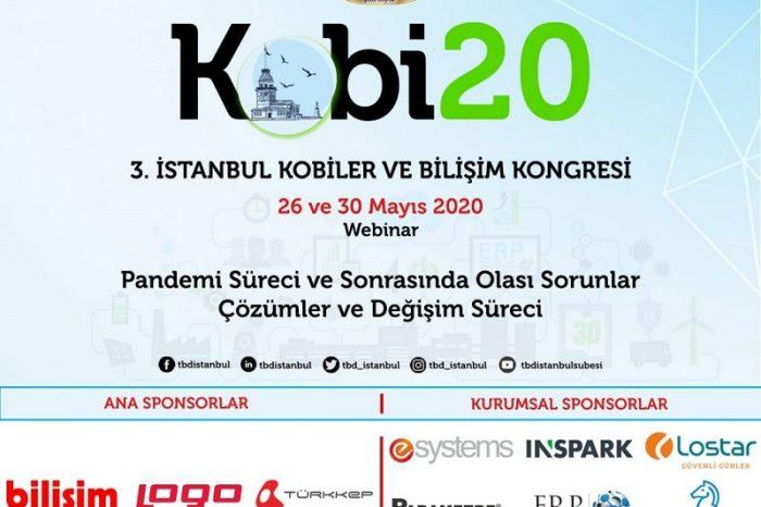 '3. İstanbul KOBİ'ler ve Bilişim Kongresi'ne davet