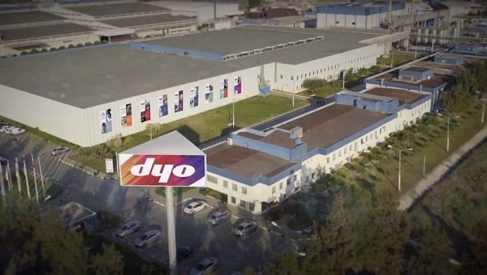 DYO, 'Covid-19 Güvenli Üretim Belgesi'ne Sahip İlk Boya Firması Oldu