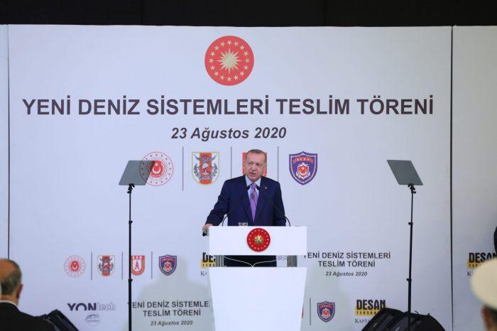 """Cumhurbaşkanı Recep Tayyip Erdoğan: """"İkinci üçüncü uçak gemilerini inşa edelim"""""""