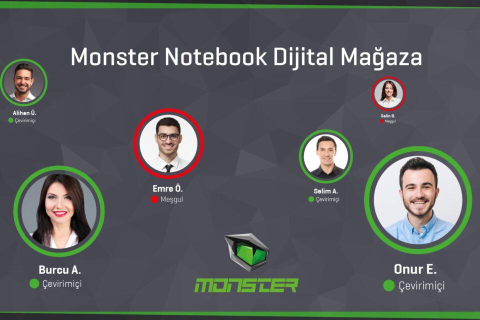 Monster Notebook'tan Dijital Mağazacılıkta Devrim