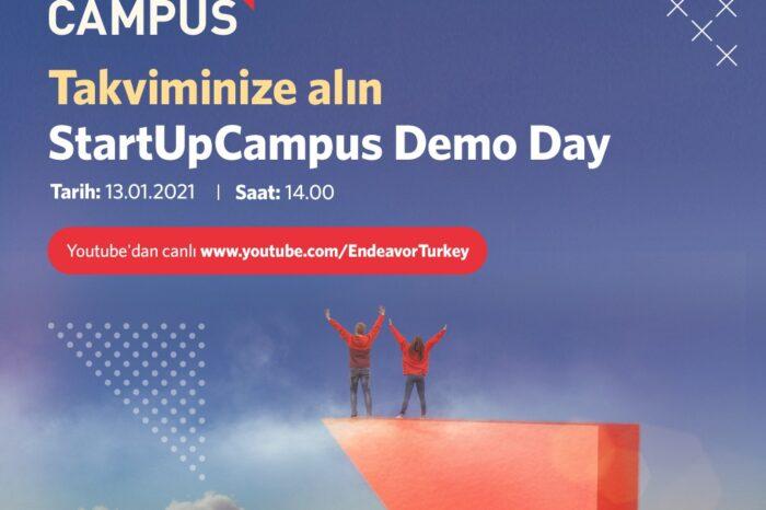StartUpCampus, DEMO DAY ile Girişimcilerini Mezun Ediyor…
