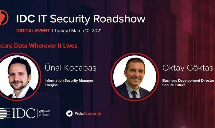 Secure Future | IDC Security RoadShow 2021| EnerjiSA'da Veri Tabanı Güvenliği