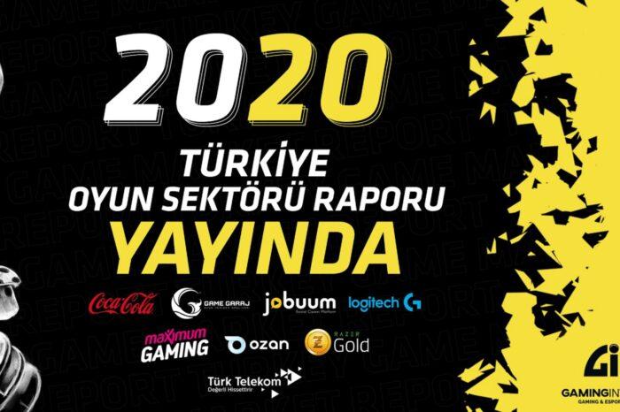 Türkiye Oyun Sektörü 2020 Raporu yayınlandı