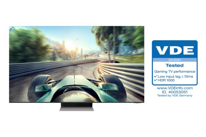 """Samsung Neo QLED TV'lere endüstride öncü """"Oyun Televizyonu Performansı"""" sertifikası verildi!"""