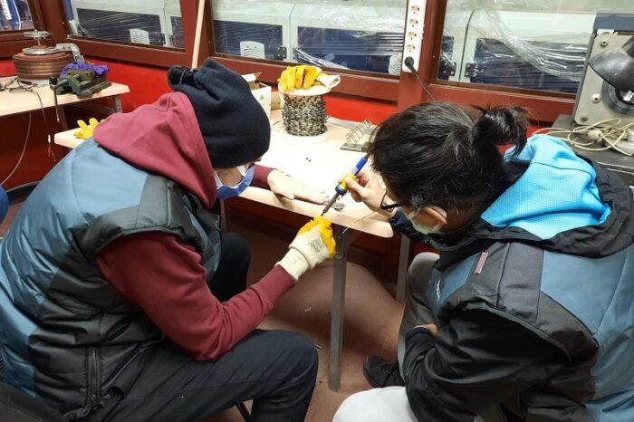 Öğrenciler sanayi ile çalışarak yaratıcı fikirlerini ortaya koyuyor