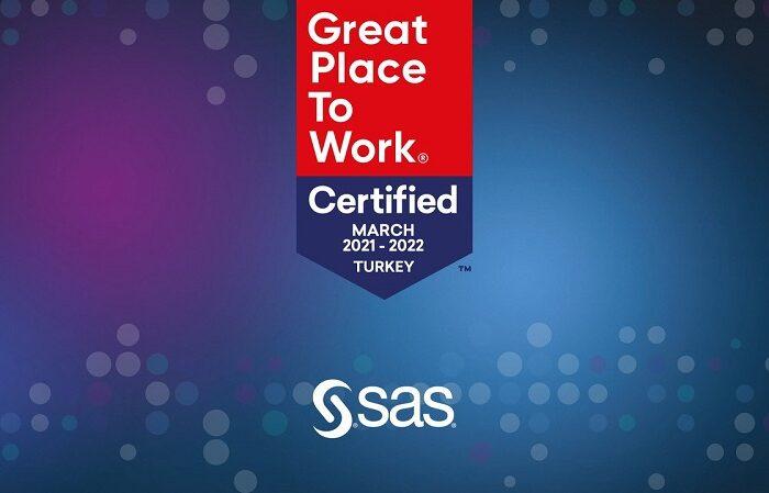 SAS Türkiye Great Place to Work Sertifikası'nı Almaya Hak Kazandı