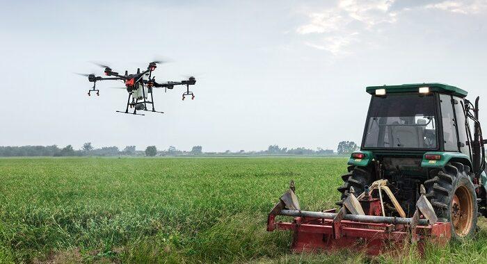 Hasat kontrolü dron takibinde