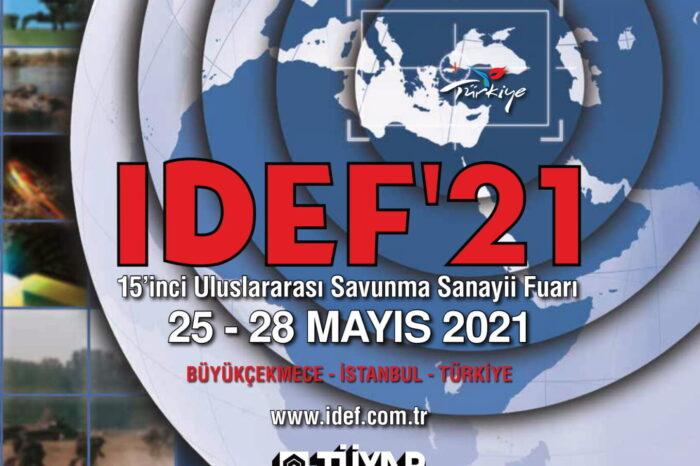 Savunma Sanayii Tedarikinden Sorumlu Makamlar IDEF'21'de Buluşacak