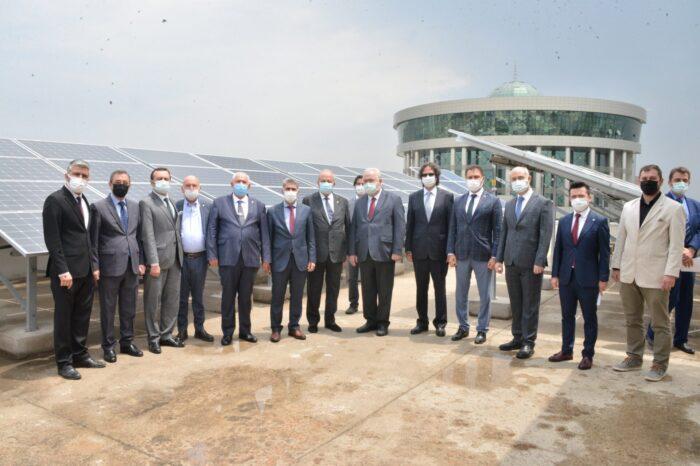 ASO Teknik Koleji Öğrencilerinden Yenilenebilir Enerji Projesi