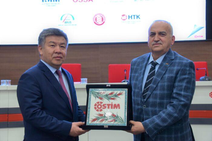OSTİM Modeli Kırgızistan Parlamentosuna Sunuluyor