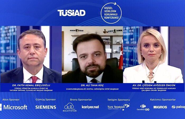 """TÜSİAD Kişisel Verilerin Korunması Konferansı, """"Doğru Veri Yönetimi ile İşinizi Geleceğe Taşıyın"""" teması ile gerçekleşti"""