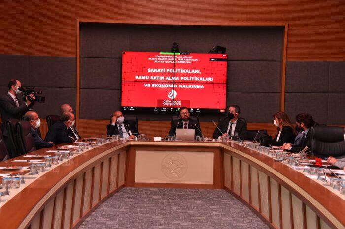 TBMM Sanayi Komisyonunda OSTİM Teknik Üniversitesi Rektörü Deneyimlerini Paylaştı!