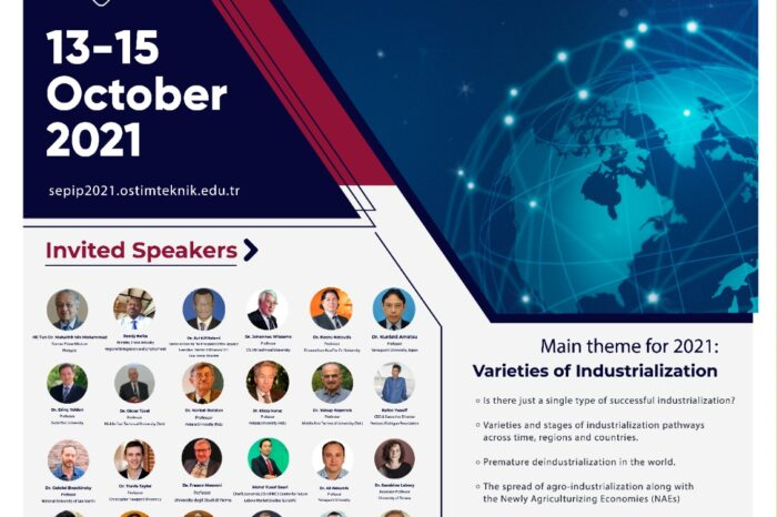 SEPIP 2021 Konferansı Dünyanın önde gelen akademisyenlerini ve iş insanlarını buluşturuyor